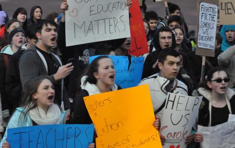 Student Rep. Andrew Davidson Speaks on Teacher Strike