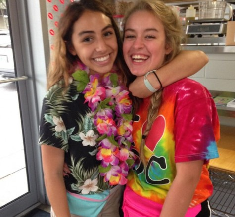 Students go 'tacky' for Day One of Spirit Week