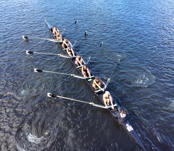 Rowers race in fall classic