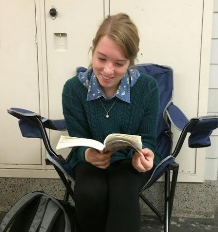 Senior Jillian Briglia sees poems go online
