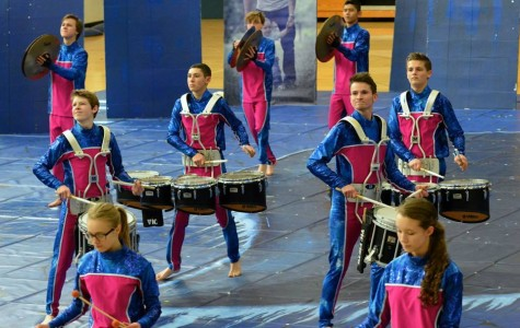 Drumline takes fourth in state competition