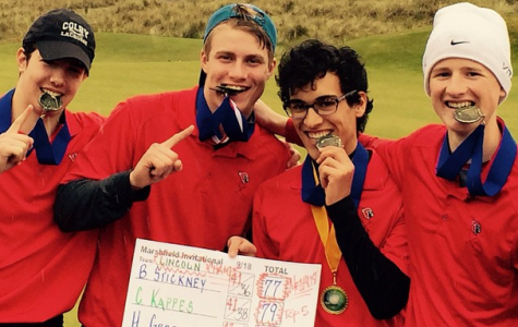Boys' golf goes on a four-tournament winning streak
