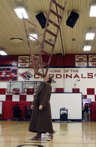 Peters provides perfect balance at annual assembly