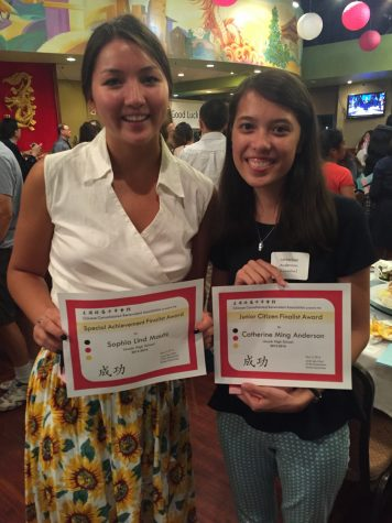 Seniors celebrated at Chinese banquet