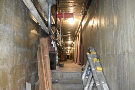 Tunnels carve path into school's past