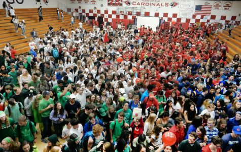 Spirit Week brings school together with football, costumes and colors