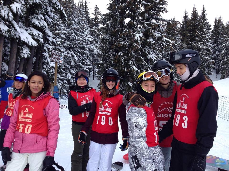 Ski Team Ranks Seventh In State
