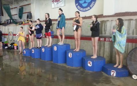 Girls Swim to Second at Metro District
