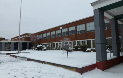 Lincoln High School during the last two snow days.
