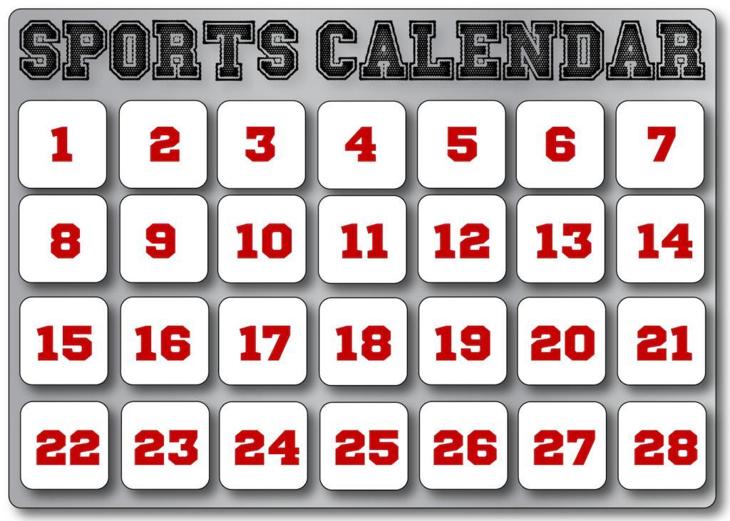 Sports+Calendar