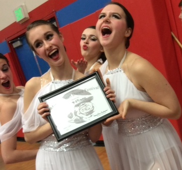 Lincoln Dance Takes Third in Metro Competition