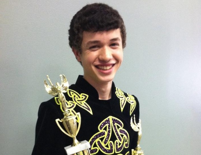 Sophomore Going to World Competition for Irish Dance