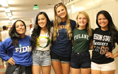 Seniors Show Their Pride for Decision Day