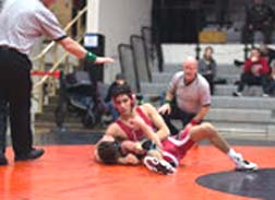Jones takes wrestlers to second place at Gladstone