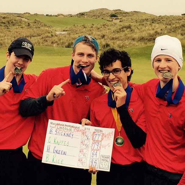 %28From+left%29+Sophomore+Brock+Rice%2C+juniors++Chris+Kappes%2C+Ben+Stickney%2C+and+Henry+Green+bite+their+medals+after+winning+at+Bandon+Dunes+golf+resort+on+April+5.