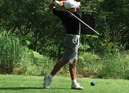 Boys' golf completes day one of state, prepares for final round