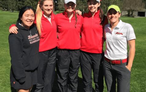 Girls' golf team claims league title