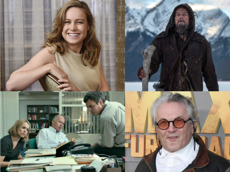 Top left: Brie Larson's breakout performance in