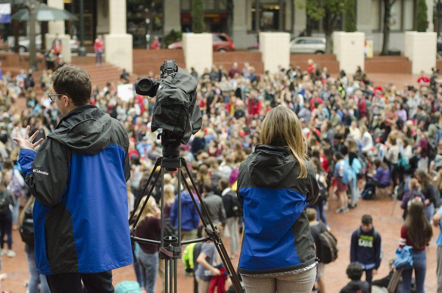 The Lincoln walkout was followed by all the major Portland news outlets, some of which allow comments on their stories. The comments was largely negative toward the walkout participants.
