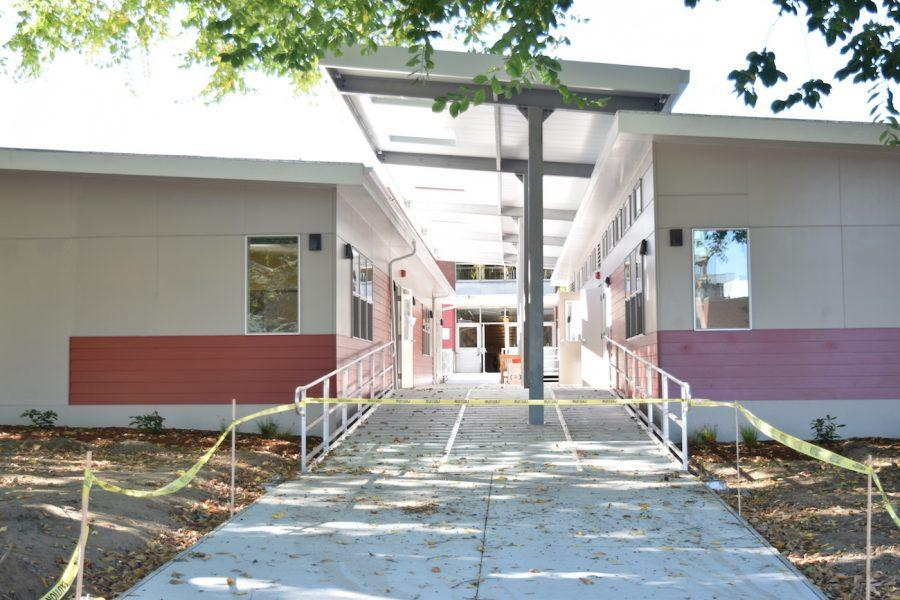 The new portables opened Sept. 27.