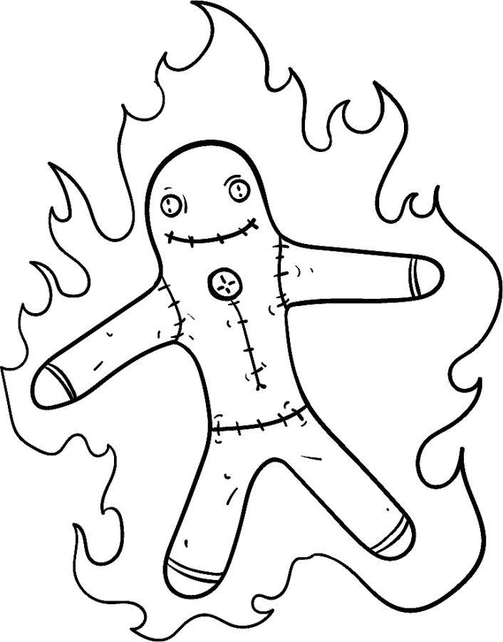 ¿Calzones amarillos o muñecos quemados?