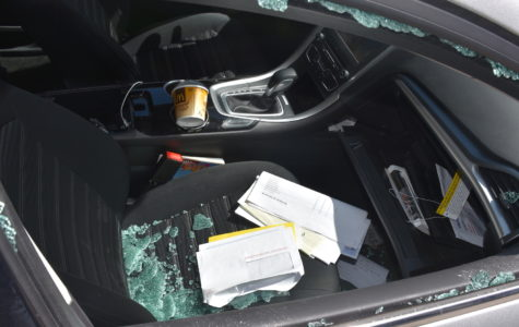 Cars broken into outside Lincoln (gallery)