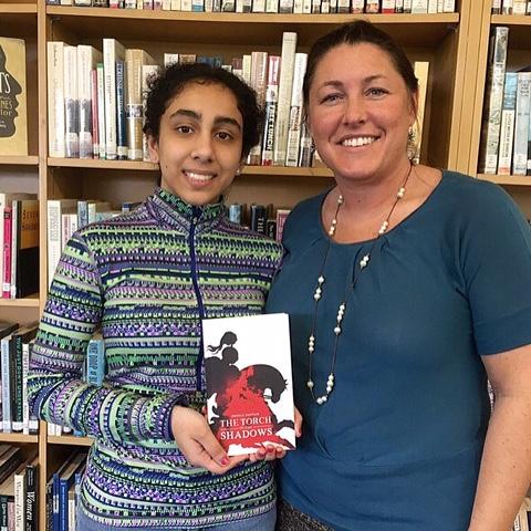 Sheila Panyam (left) recently published a novel.