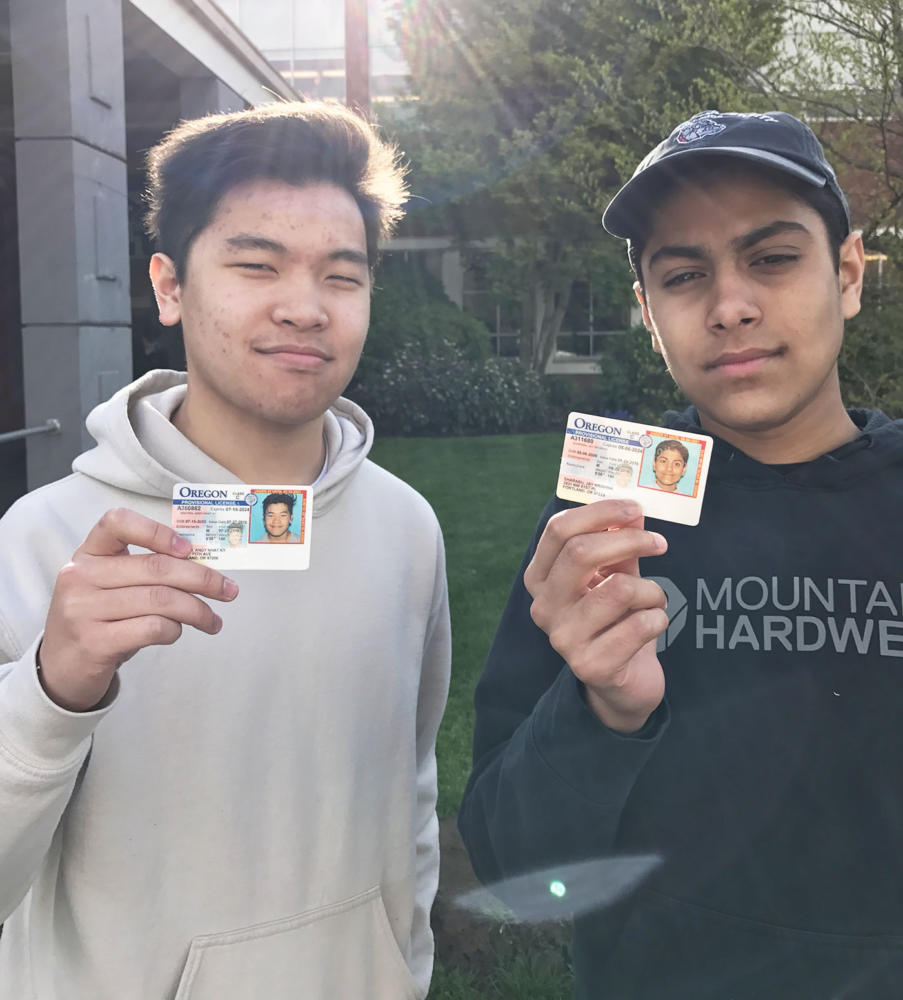 Jay Sharabu (right) and Andy Nguyen, Associated student body (ASB)