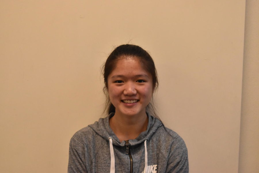 Annika Wang recently stopped taking Kung fu to focus on her studies.