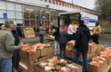 Annual food drive feeds over 500 families