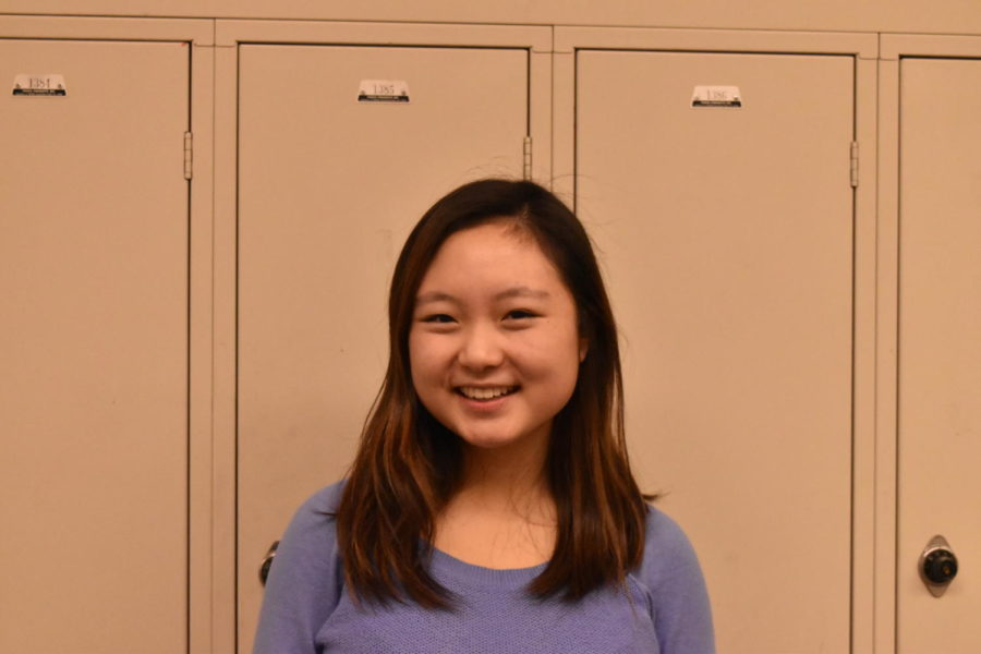 Natalie Wang has grown more confident from participating in speech and debate.