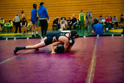 Jones Wrestles at State