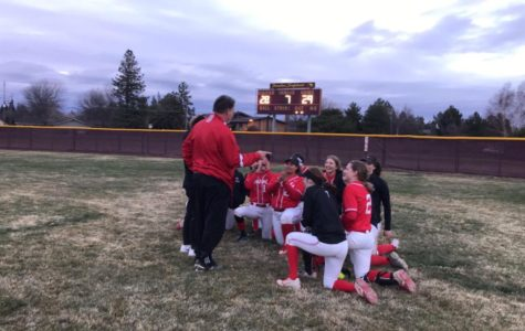 Softball hits targets in up-and-down season