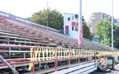 Use of bleachers restricted due to safety risks