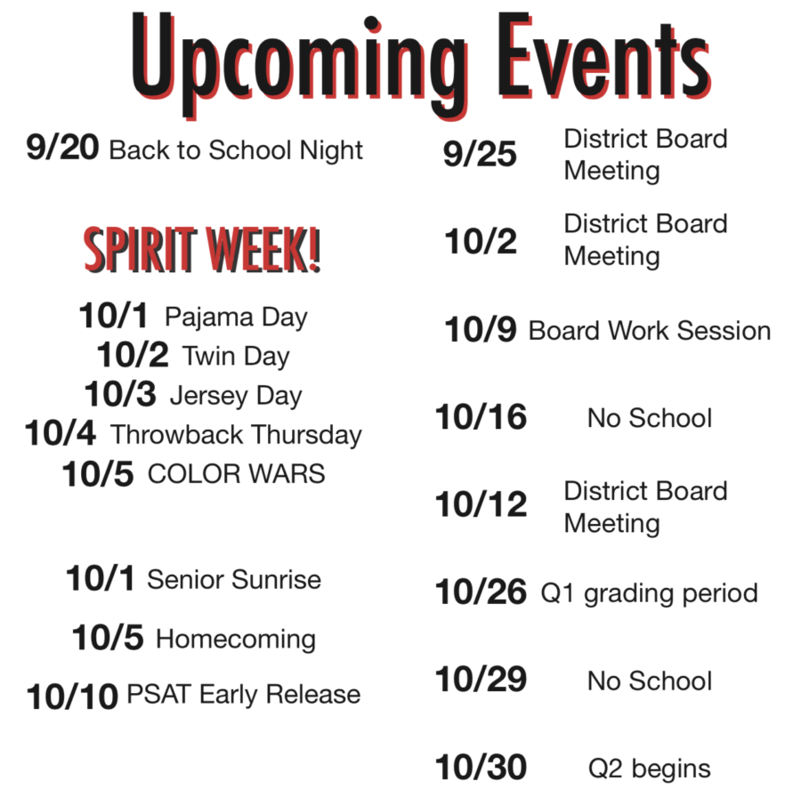 Upcoming+Events+in+School+and+in+Sports