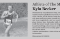 Fall sports playoff update, athlete of the month, and senior night stats