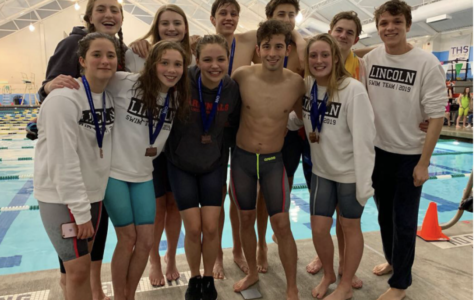 Lincoln's swim and dance teams win first in PIL