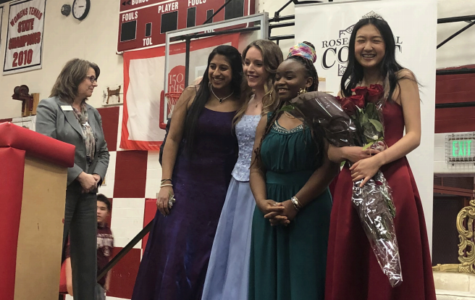 Sophia Zhang crowned Rose Princess