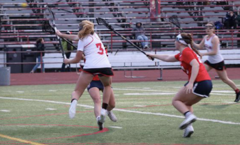 Freshman Anna Whitworth was voted at ATOM for her lacrosse skills on the field.
