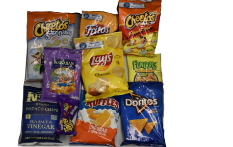 Gabe Rosenfield and Anselmo Iturri ate an assortment of potato chips and determined that Takis and Flaming Hot Cheetos meet their requirements to the highest standard.