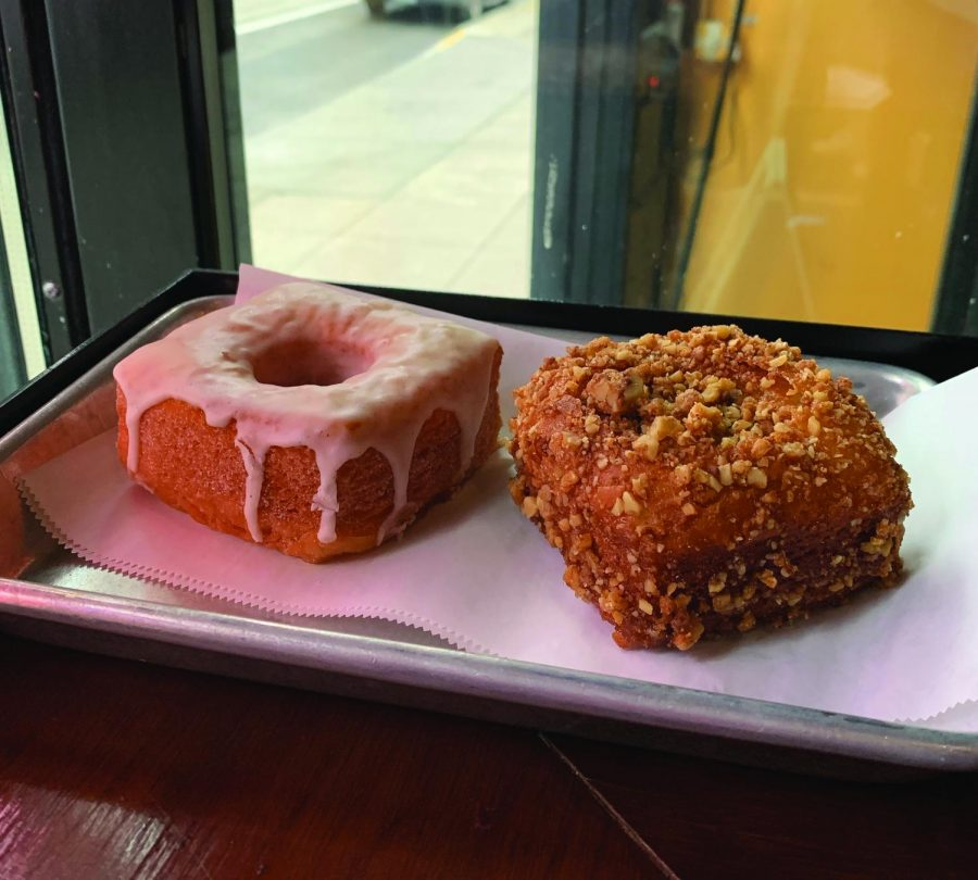 Nola Doughnuts are a New Orleans inspired doughnut shop which specializes in beignets and La'ssants.