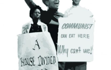 Black women protest during the Civil Rights Movement in the 1960s.