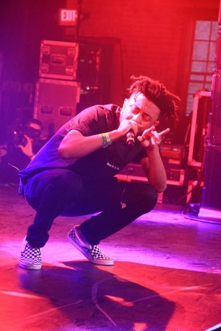 Aminé performs at the South By Southwest Music Festival in 2017. Born and raised in Portland, Amine