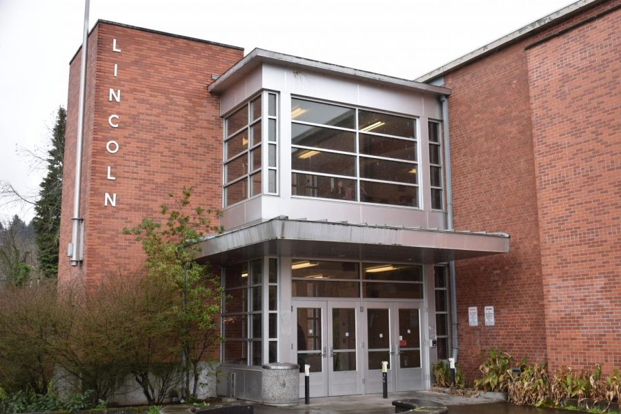 The Lincoln building from the outside. One of Lincoln's student publications, Beyond the Flock, published a controversial article in their Winter issue during February.