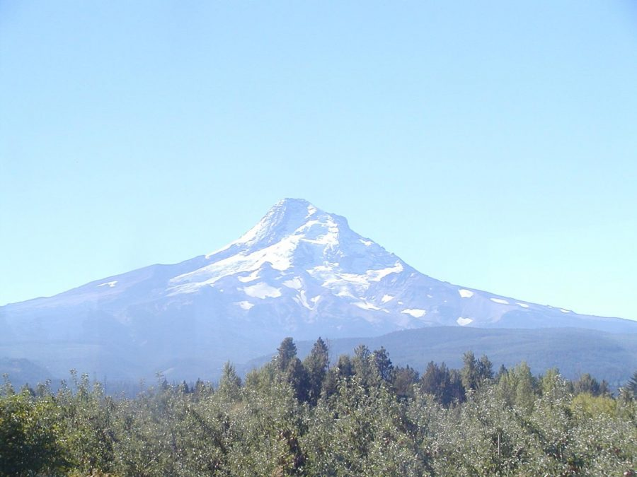 Mount Hood stands tall in the background. Two unrelated deaths at Mount Hood in the same weekend in February left Oregonians shocked.