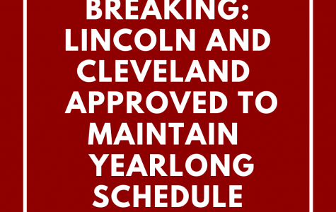 Lincoln has been approved to maintain a yearlong, 8-period class schedule