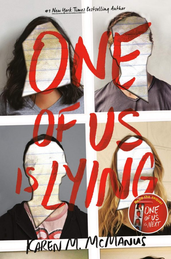 Book cover for One of Us is Lying by Karen M. McManus