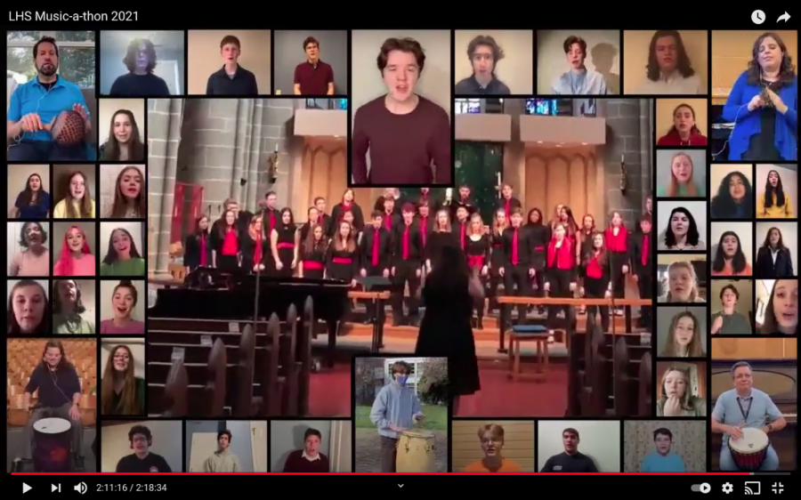 Even through this strange and unorthodox year, students say the choir program has still been going strong. They've held multiple online events including the LHS Music-a-thon which you can find on YouTube. The singers and musicians in these classes have had to struggle through the difficulty of online learning, but still found ways to perform virtually.