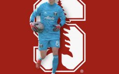 Goalkeeper Rowan Schnebly holds the ball while playing for the Timbers Academy. Schnebly recently committed to Stanford to play on the men's soccer team.